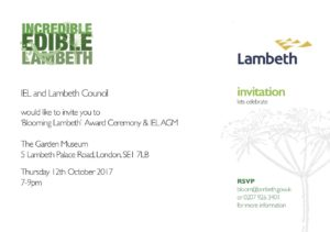 lambeth in bloom invite-1. to all
