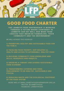Goof Food Charter flyer