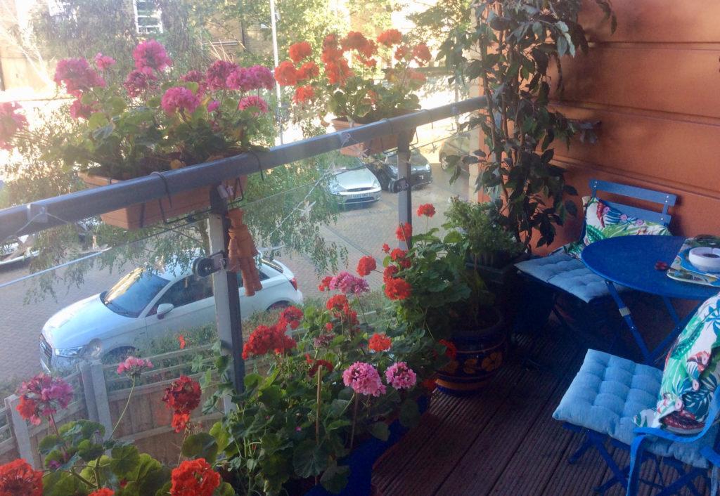 Mrs Hewson's Balcony