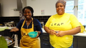 Incredible Edible LEAP Food Ambassador and parent Michelle
